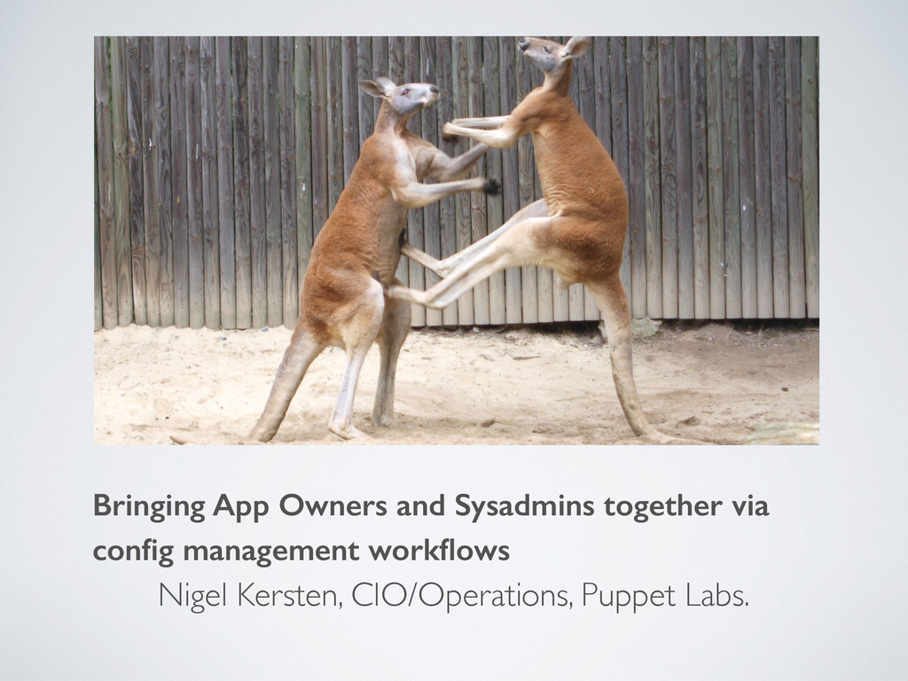 Bringing App Owners and Sysadmins together via ...