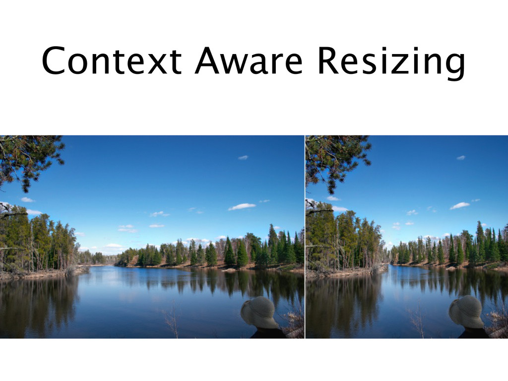 Context Aware Resizing