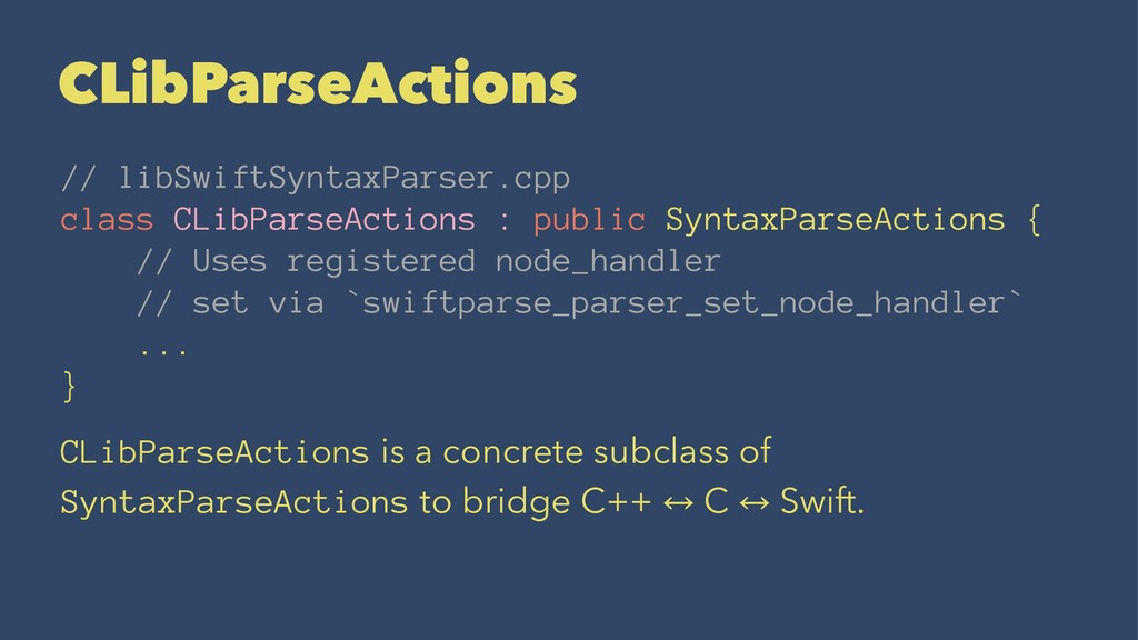 CLibParseActions // libSwiftSyntaxParser.cpp cl...