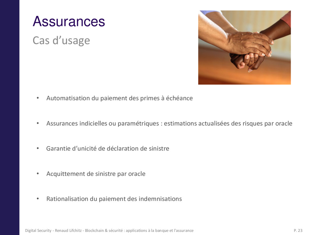 Assurances Cas d'usage • Automatisation du paie...