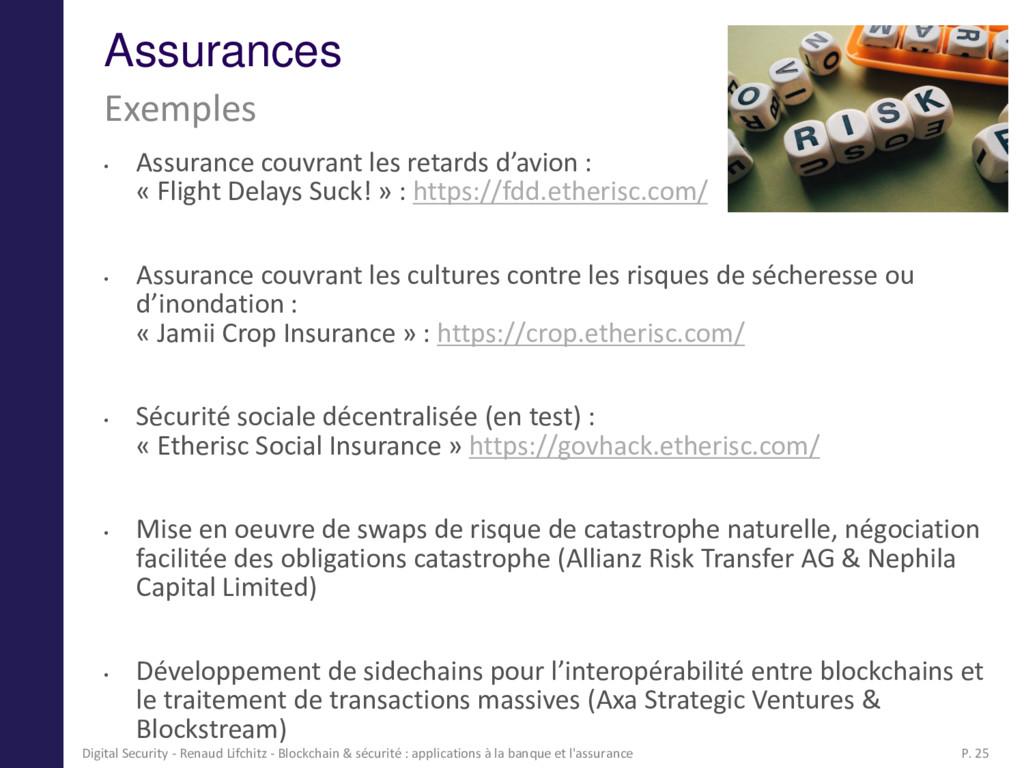 Assurances • Assurance couvrant les retards d'a...