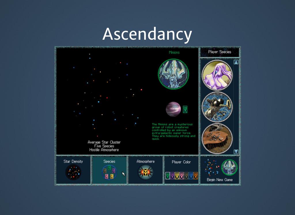 Ascendancy Ascendancy