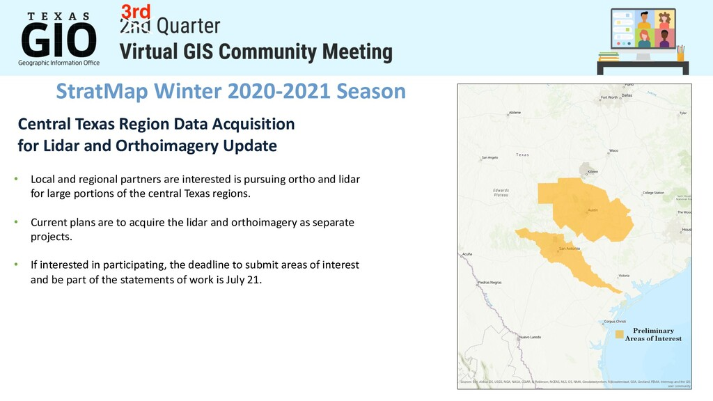 StratMap Winter 2020-2021 Season Central Texas ...