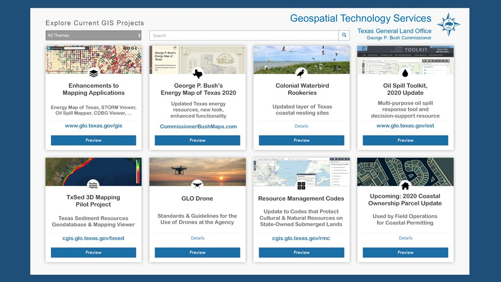 Geospatial Technology Services Texas General La...