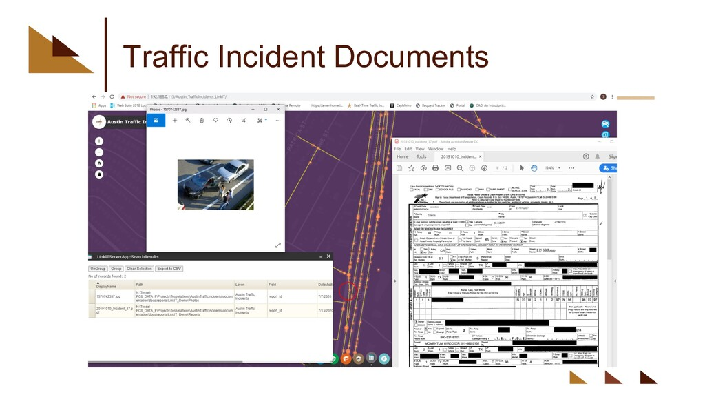 Traffic Incident Documents