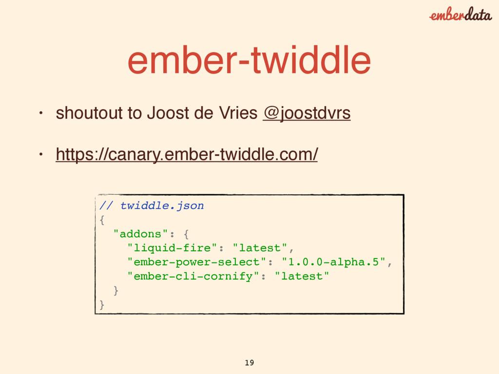 ember-twiddle • shoutout to Joost de Vries @joo...