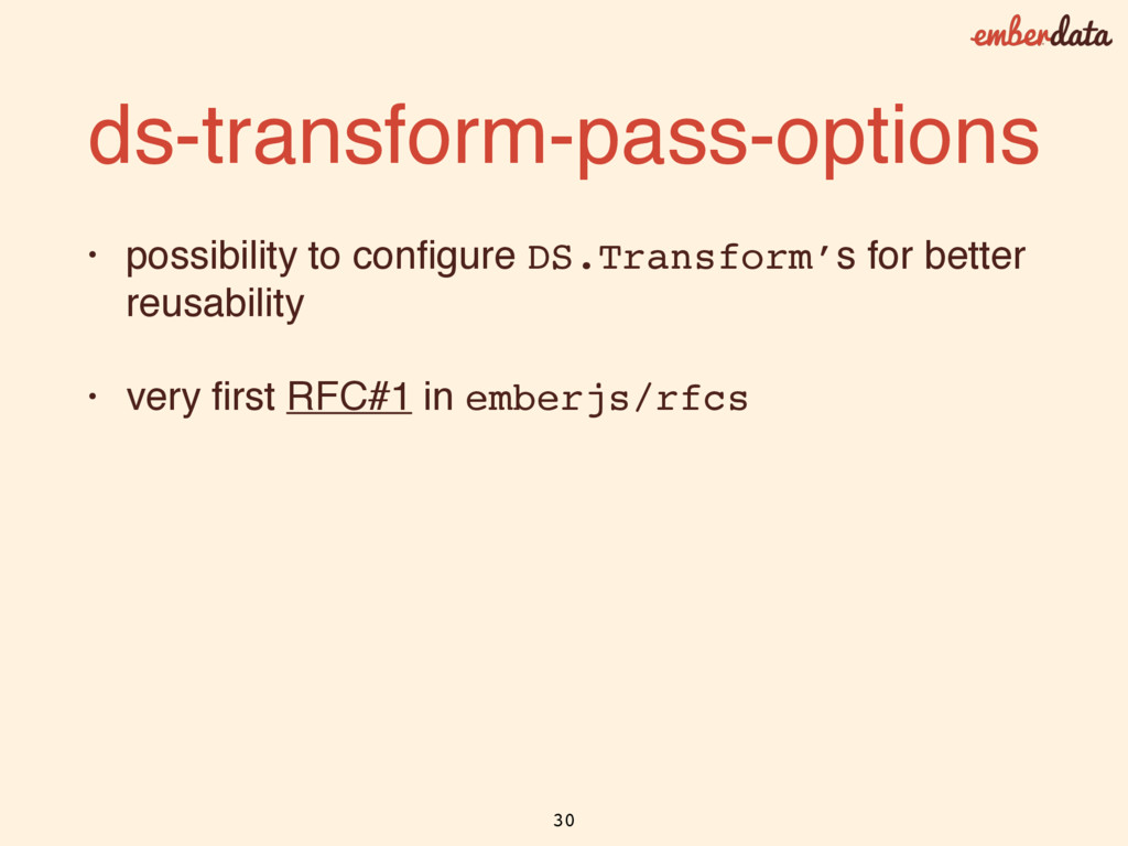 ds-transform-pass-options • possibility to confi...