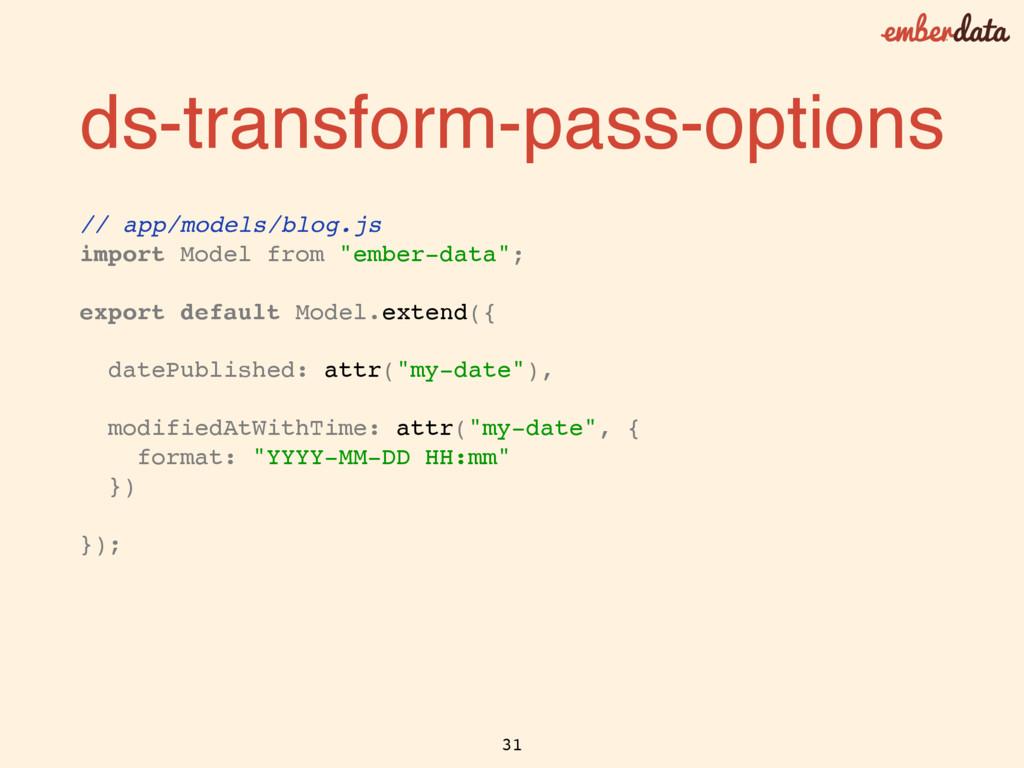 ds-transform-pass-options // app/models/blog.js...