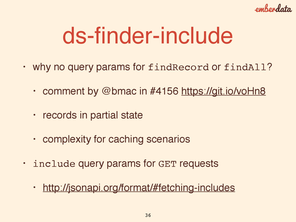 ds-finder-include • why no query params for find...