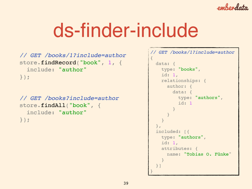 ds-finder-include // GET /books/1?include=author...