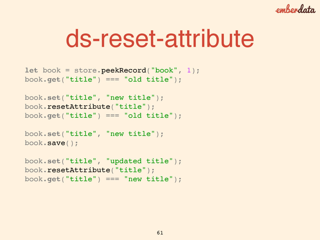 ds-reset-attribute let book = store.peekRecord(...
