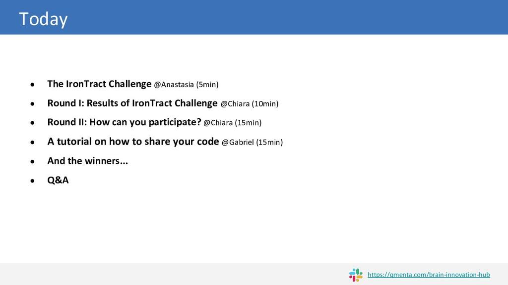 Today ● The IronTract Challenge @Anastasia (5mi...