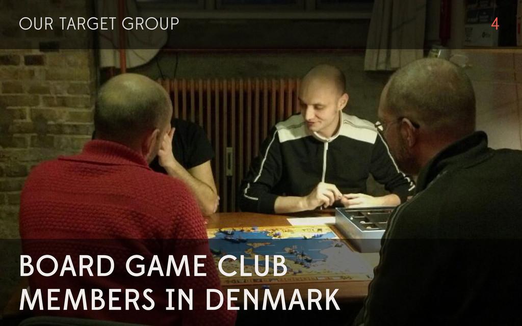 BOARD GAME CLUB MEMBERS IN DENMARK OUR TARGET G...