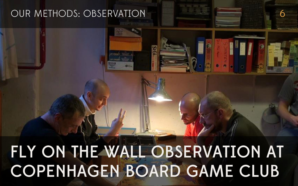 FLY ON THE WALL OBSERVATION AT COPENHAGEN BOARD...
