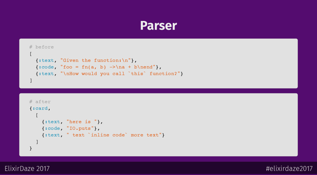 """Parser # before [ {:text, """"Given the function:\..."""