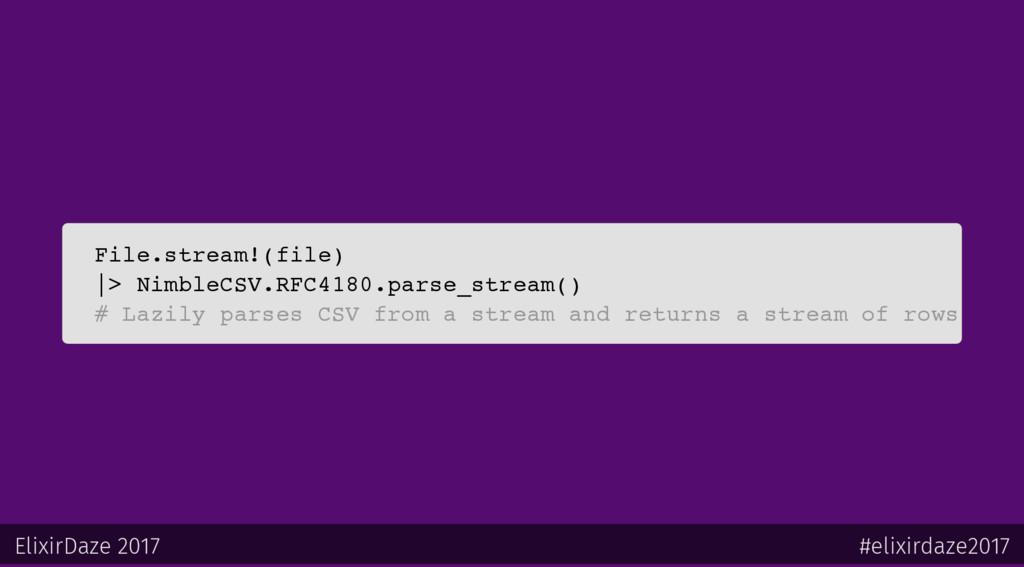 File.stream!(file)  > NimbleCSV.RFC4180.parse_s...