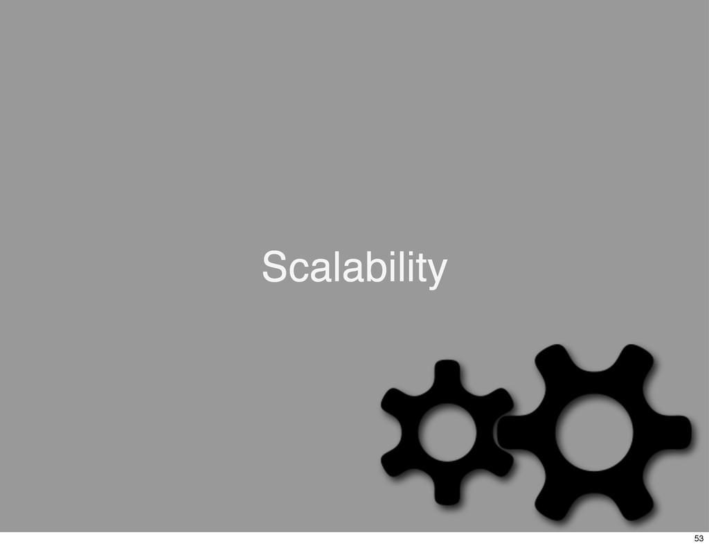 Scalability 53