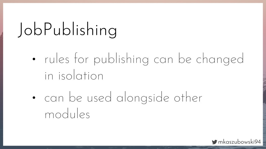 mkaszubowski94 JobPublishing • rules for publis...