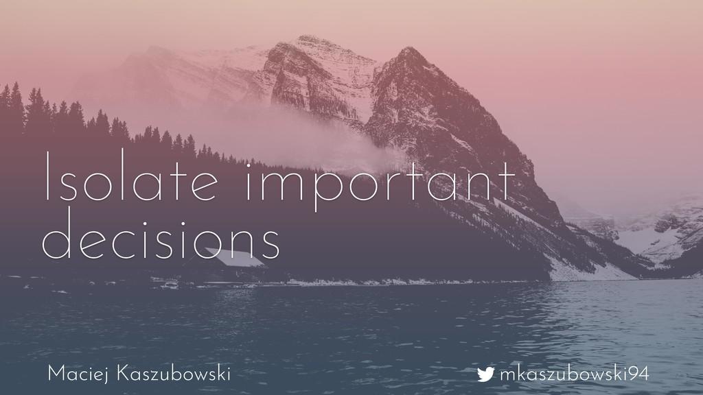 mkaszubowski94 Maciej Kaszubowski Isolate impor...