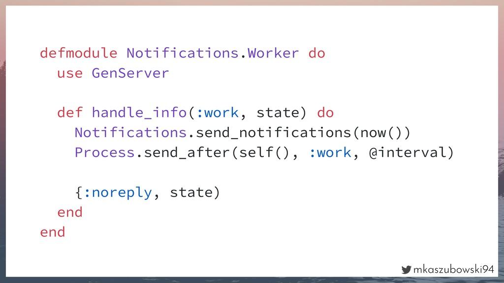 mkaszubowski94 defmodule Notifications.Worker d...