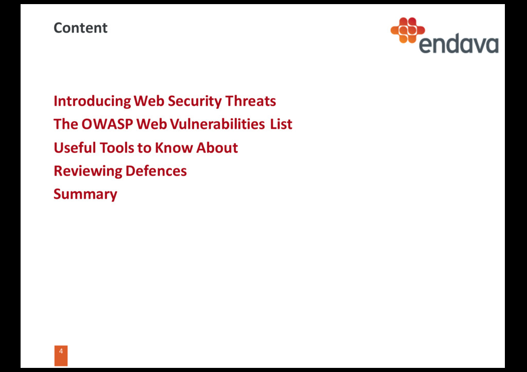 4 4 Content Introducing Web Security Threats Th...