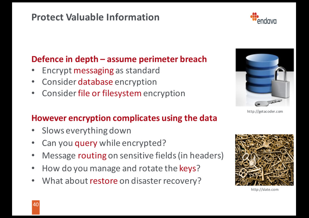 40 40 Protect Valuable Information Defence in d...