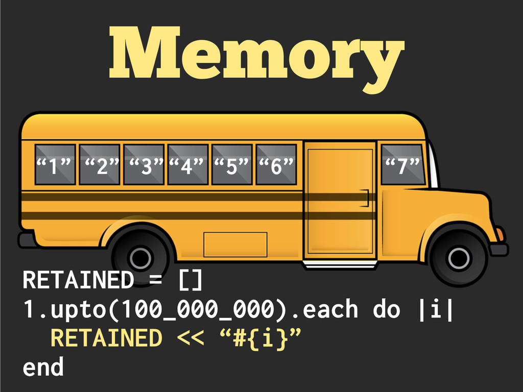 "Memory ""1"" ""2"" ""3""""4"" ""5"" ""6"" ""7"" RETAINED = []..."