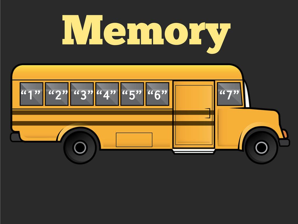 """Memory """"1"""" """"2"""" """"3""""""""4"""" """"5"""" """"6"""" """"7"""""""