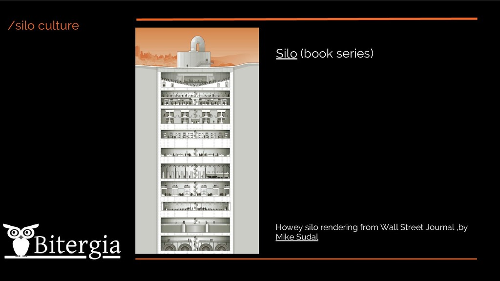 /silo culture Howey silo rendering from Wall St...