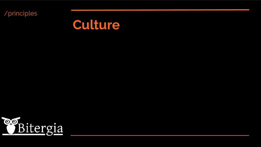 /principles Culture