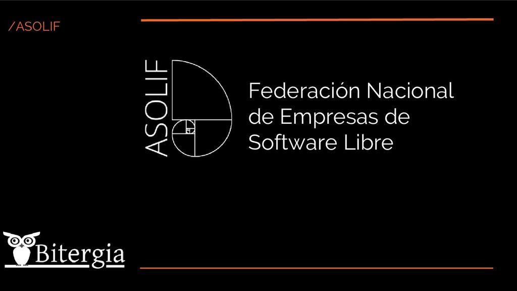 /ASOLIF Federación Nacional de Empresas de Soft...
