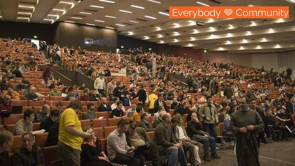 /everybody loves open development Everybody Com...