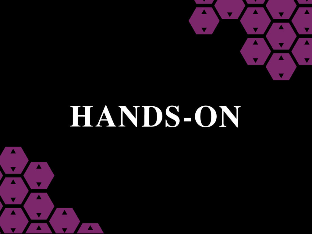 HANDS-ON