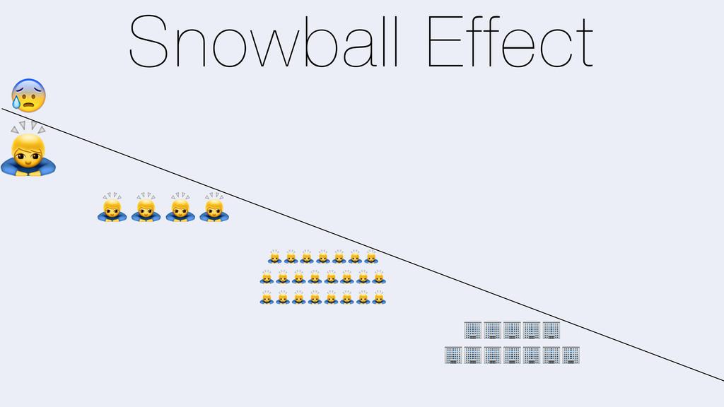 Snowball Effect 0 0000 0000000 00000000 0000000...