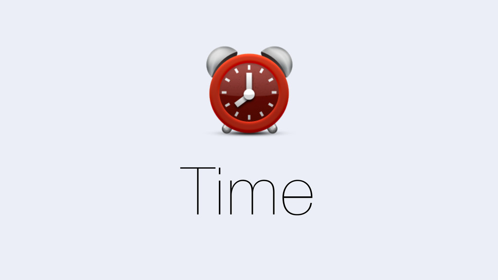 Time ⏰