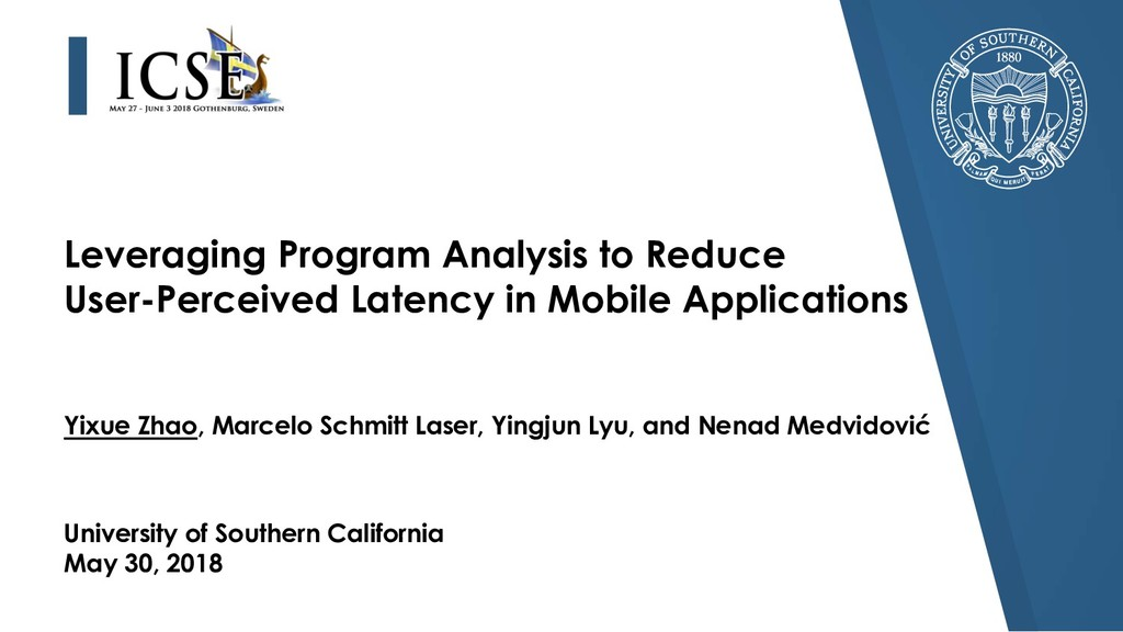 Leveraging Program Analysis to Reduce User-Perc...