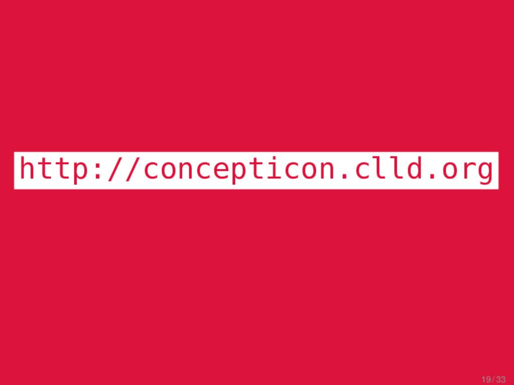 CLICS 2.0 Excursus http://concepticon.clld.org ...