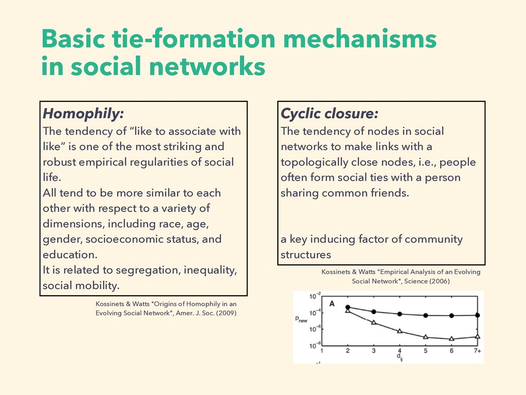 Basic tie-formation mechanisms in social networ...