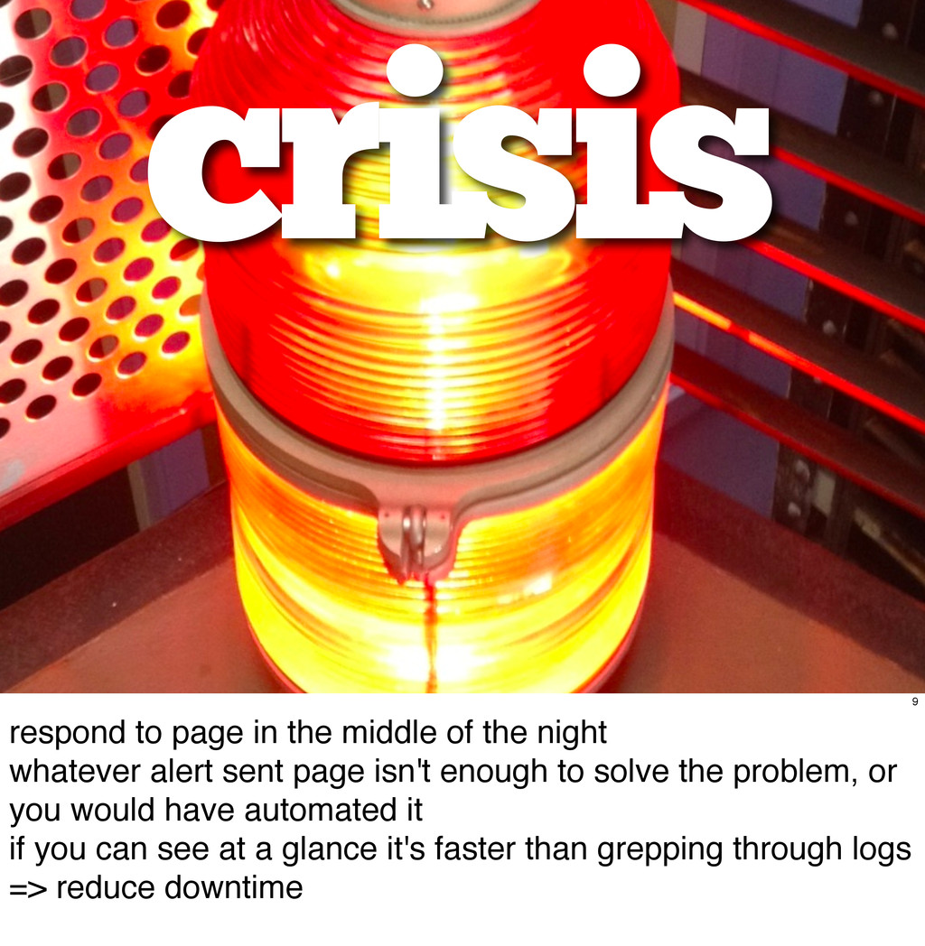 crisis 9 respond to page in the middle of the n...