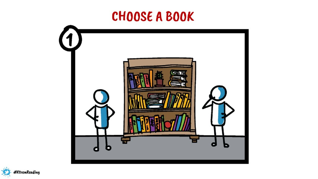 CHOOSE A BOOK #XtremReading