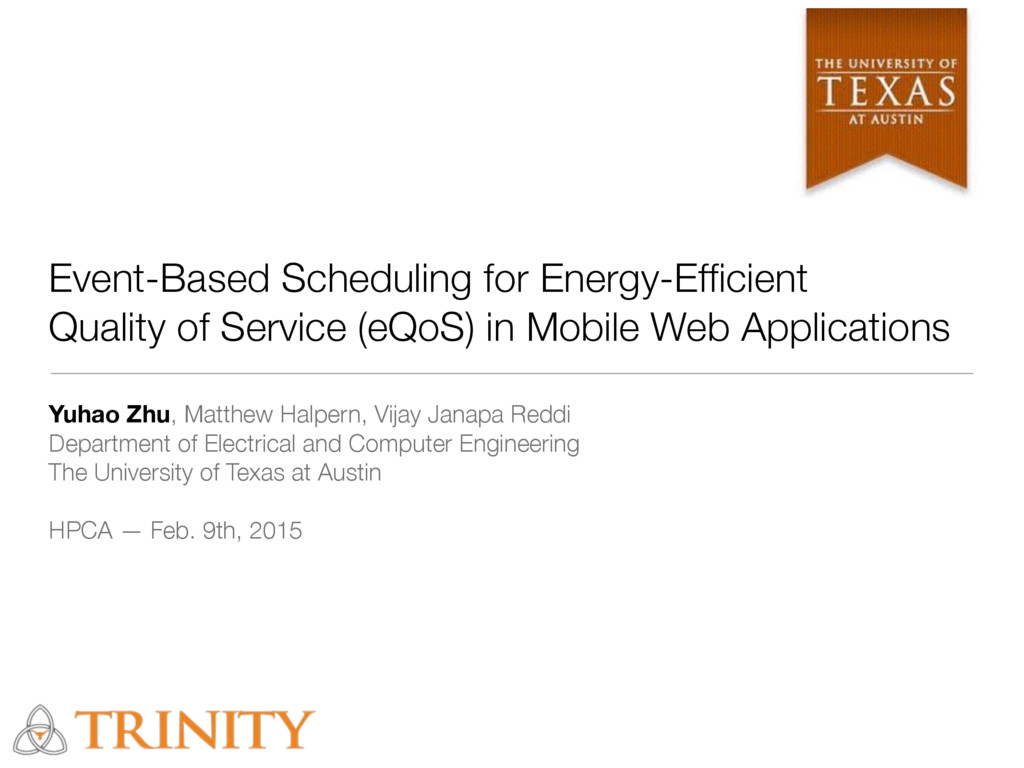 Event-Based Scheduling for Energy-Efficient Qual...