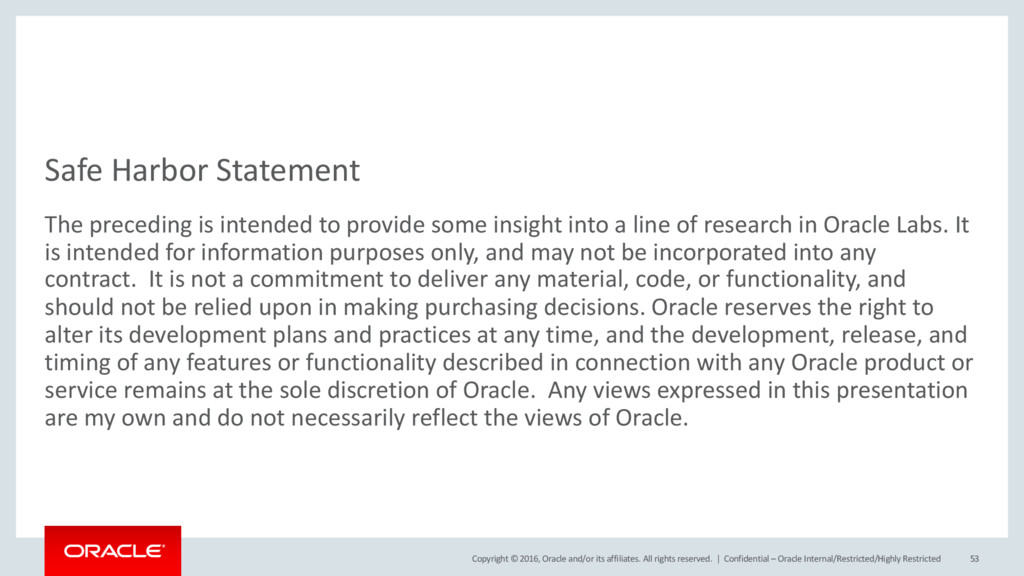 Copyright © 2016, Oracle and/or its...