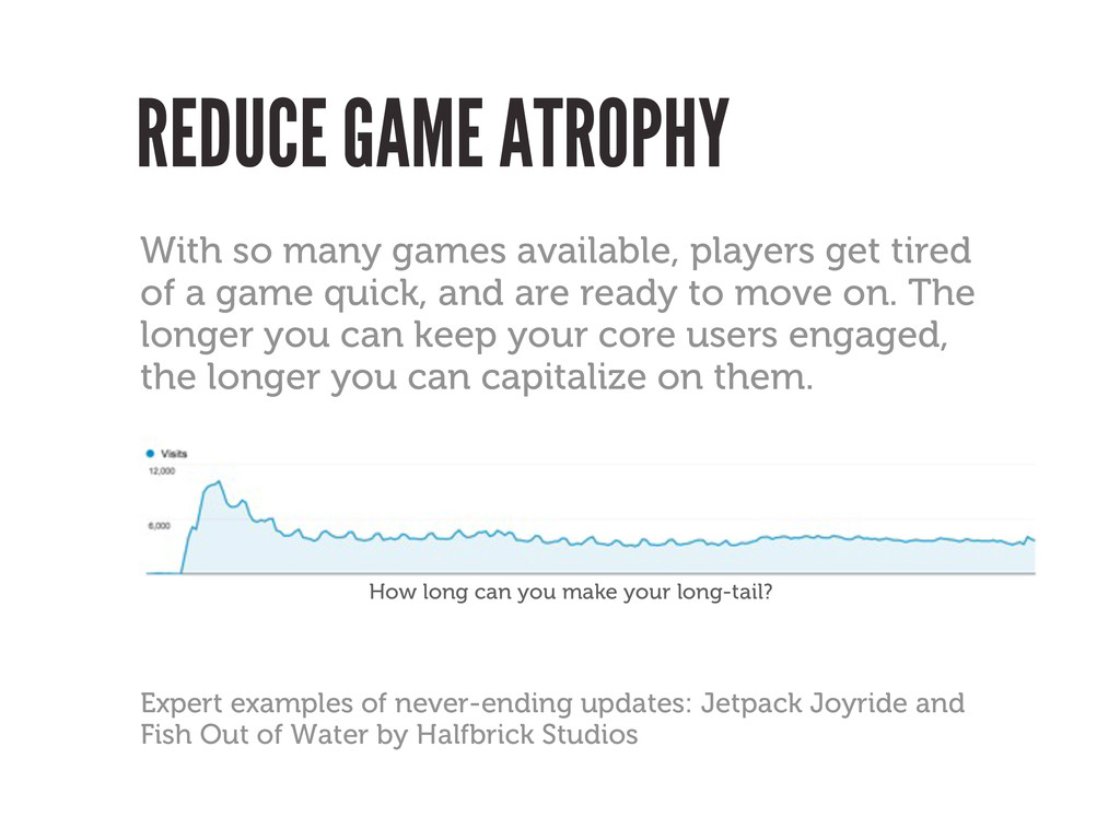 REDUCE GAME ATROPHY With so many games availabl...