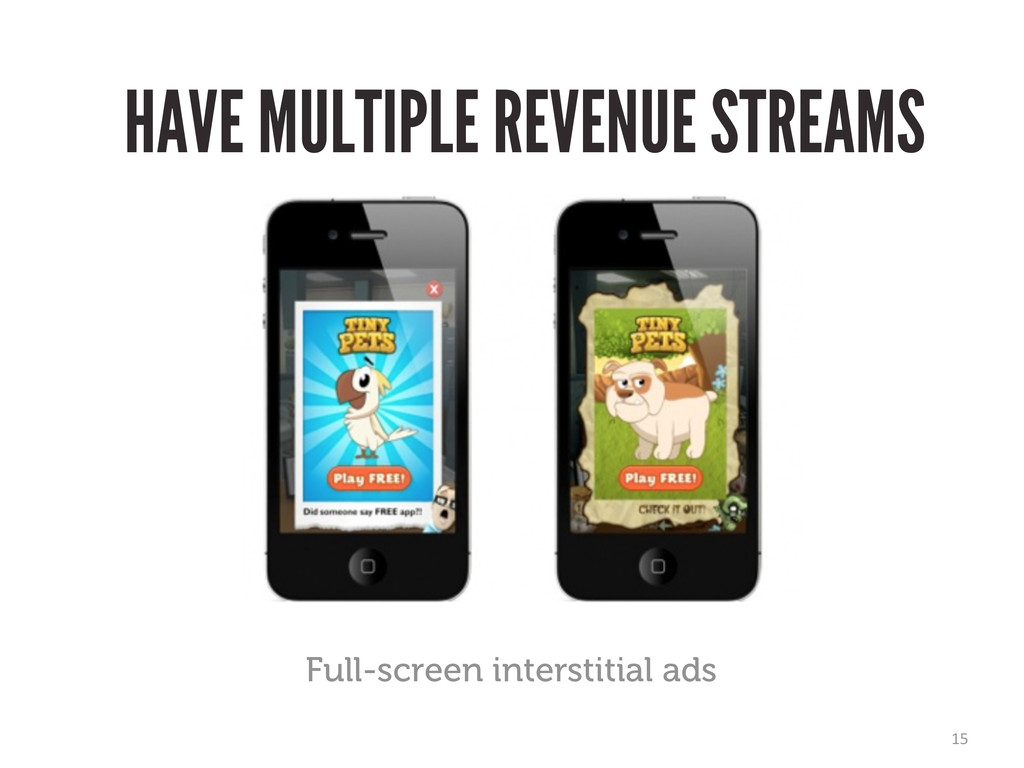 15 Full-screen interstitial ads HAVE MULTIPLE R...