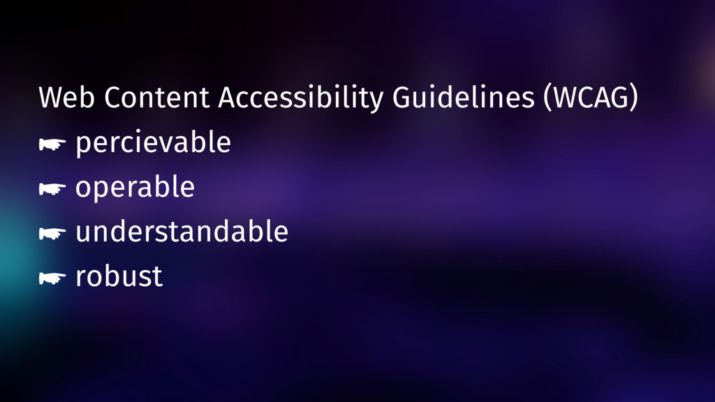 Web Content Accessibility Guidelines (WCAG) ☛ p...