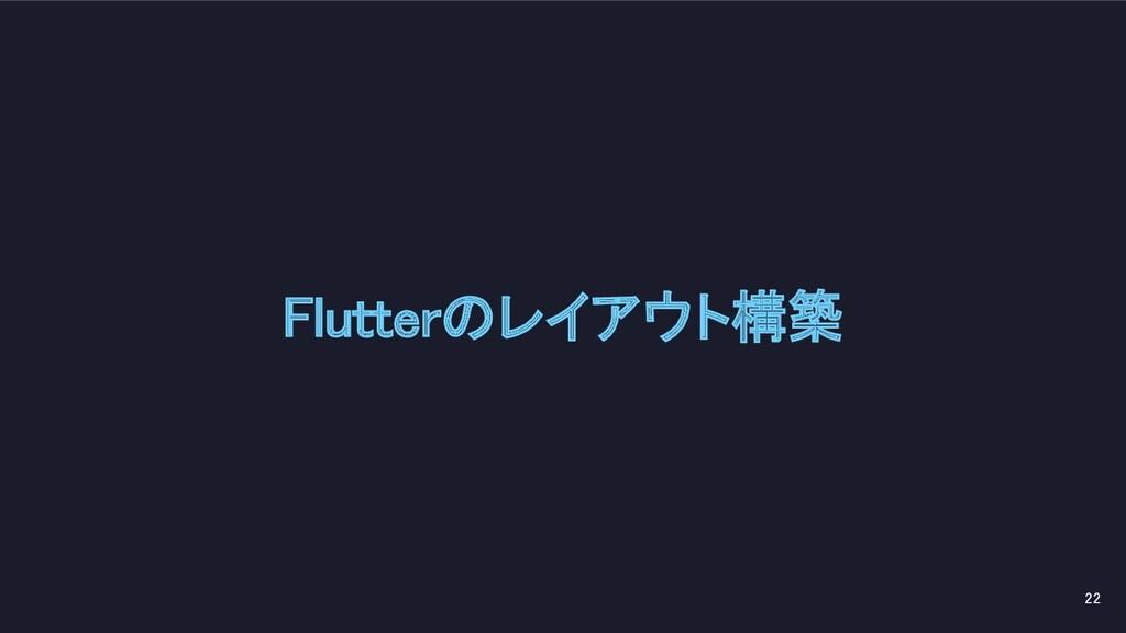 Flutterのレイアウト構築 22