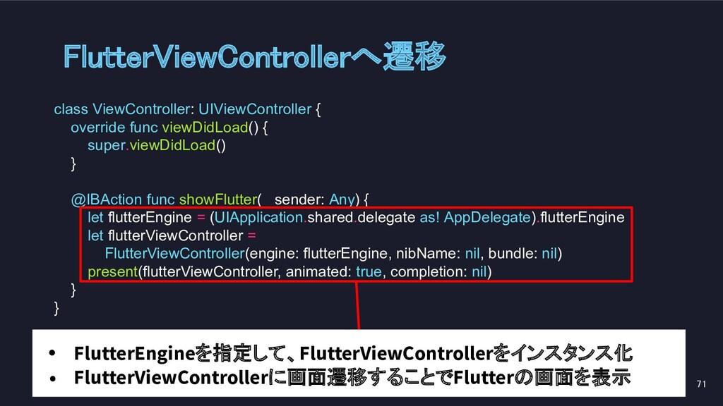class ViewController: UIViewController { overri...