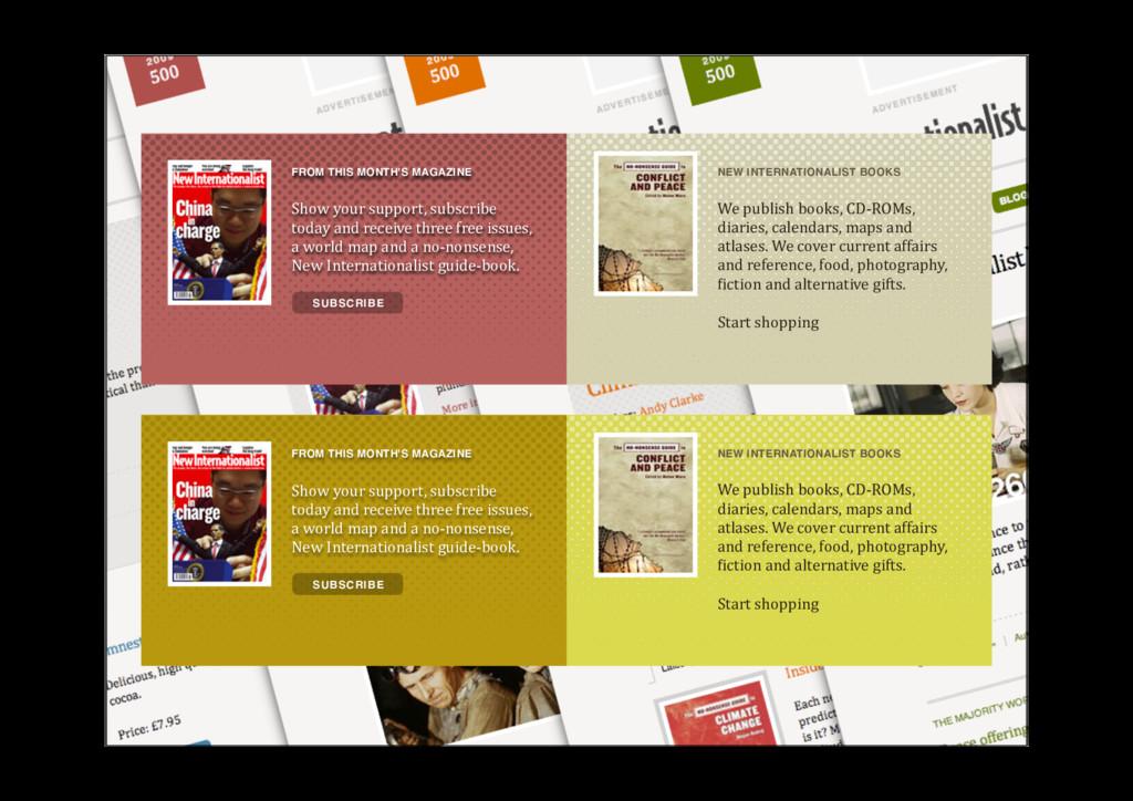 NEW INTERNATIONALIST BOOKS Wepublishbooks,CD...