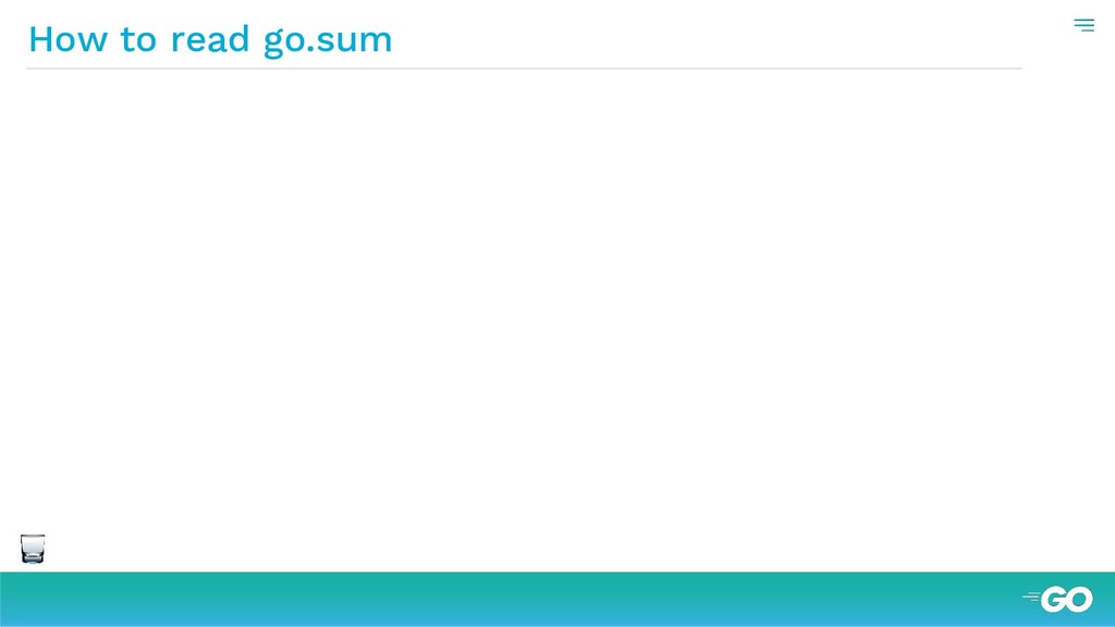 How to read go.sum