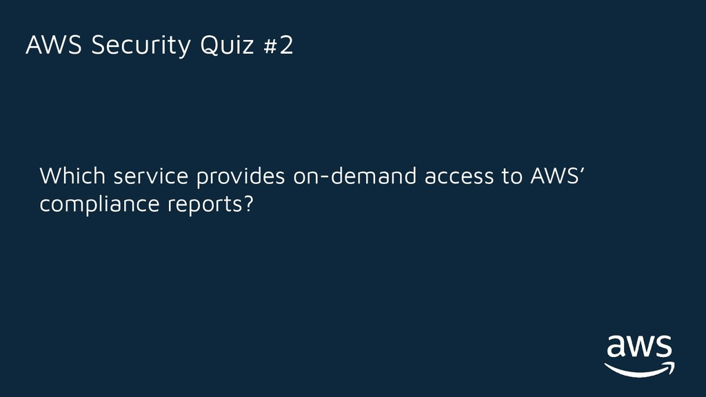 Which service provides on-demand access to AWS'...